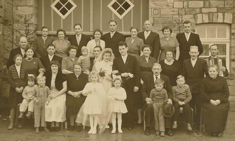 1957 Heirat in Leiberg: Marianne und Günther Schmidt