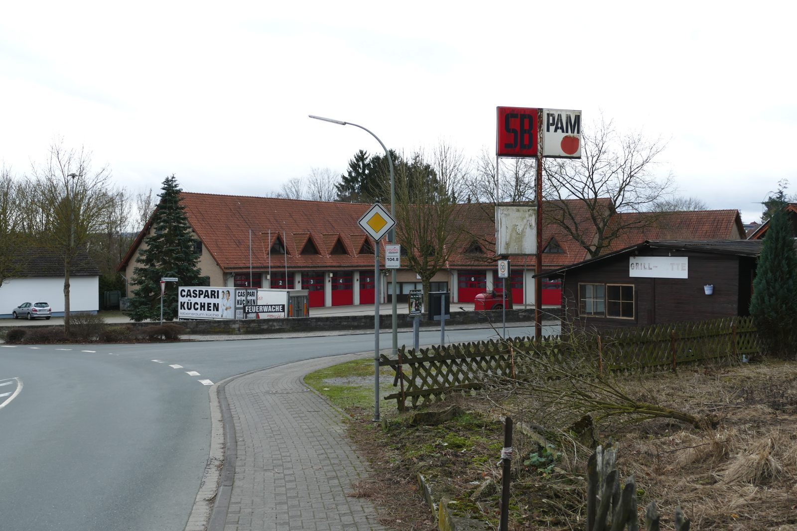 Hier stand einmal das Gelände des Bauunternehmens Schumacher