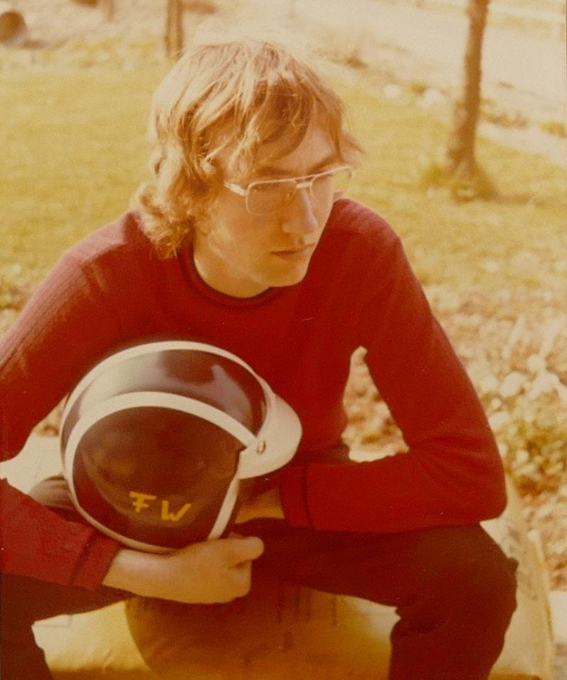 Ich und mein Helm