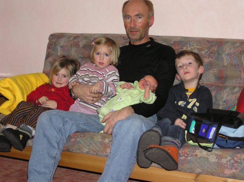 Der Papa von 4 Kindern