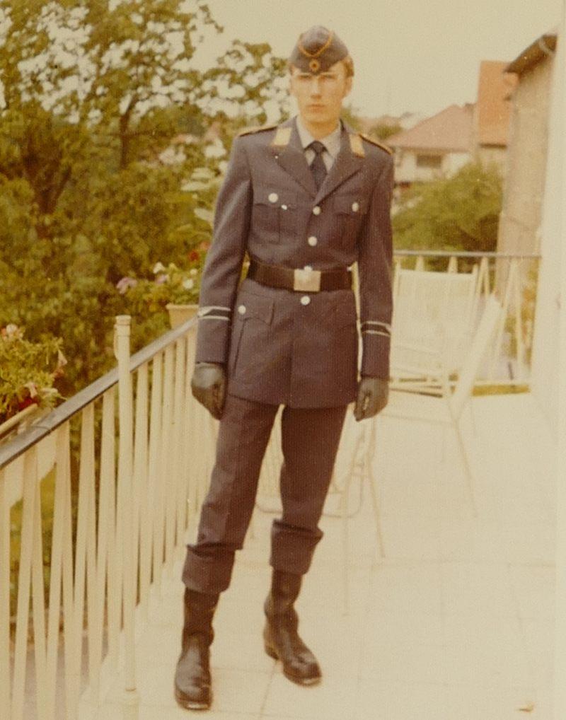 Auf dem Balkon 1973