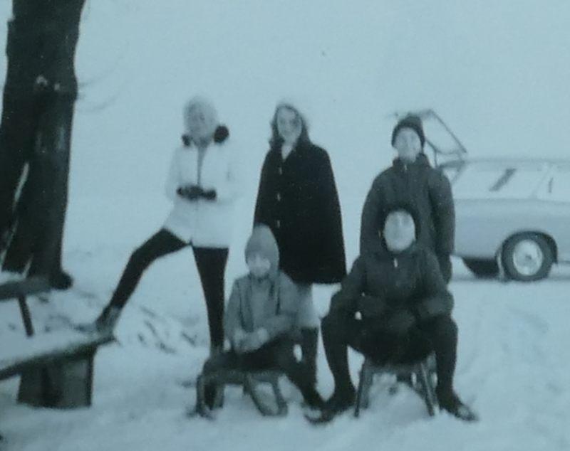 Über Weine im Schnee