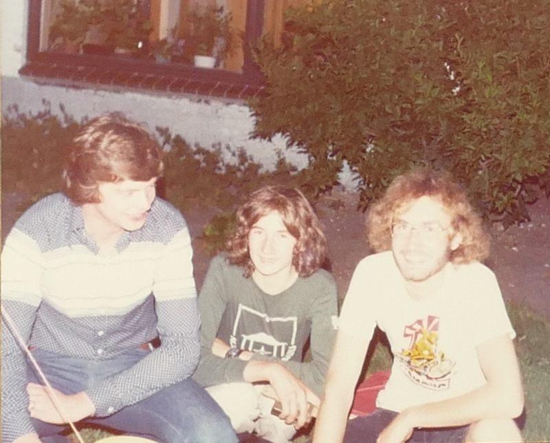 Assen 1976 - lange Haare sind cool