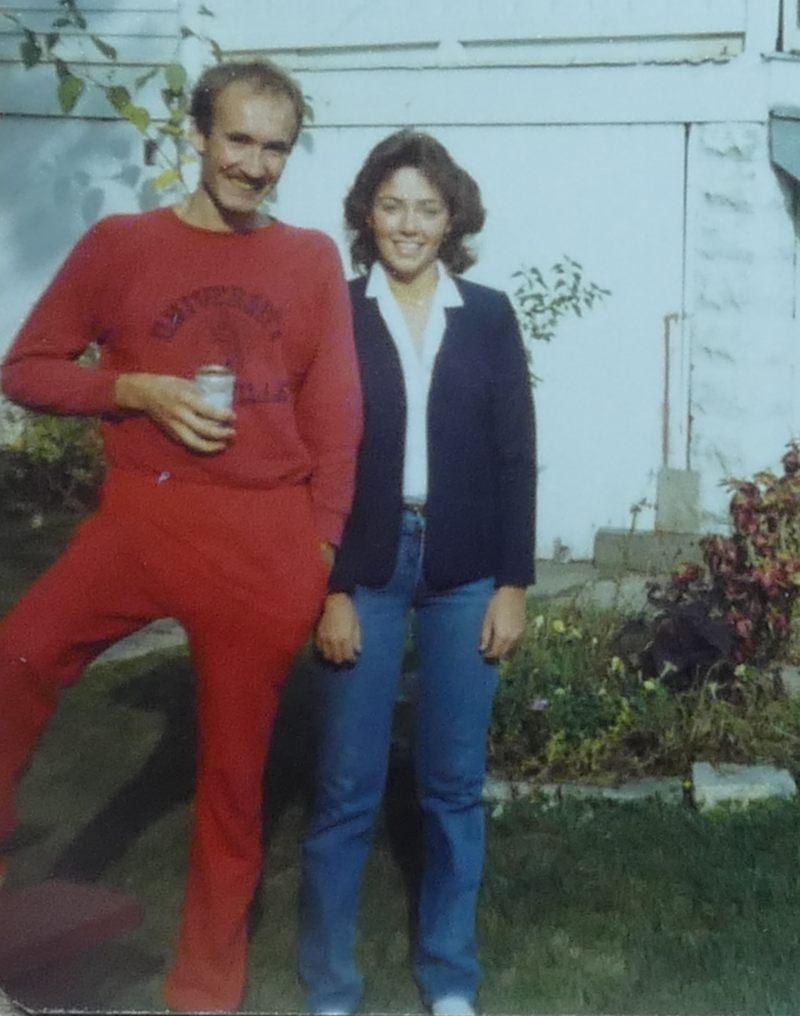 Jeannette und ich 1981