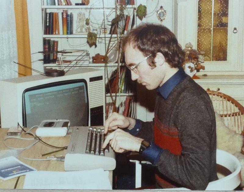 Erste Gehversuche mit einem Computer: 1984 mit C64