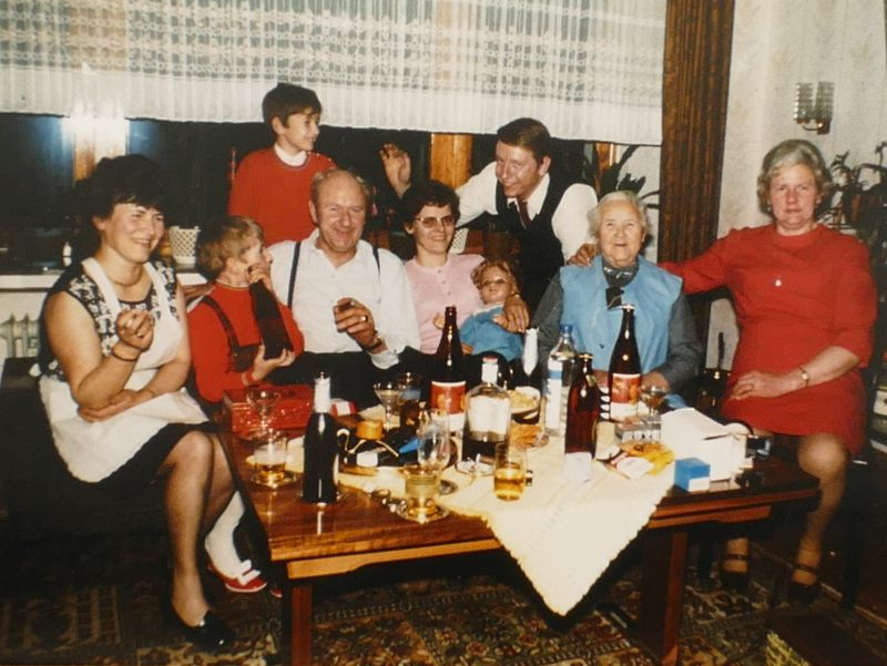 Feier bei den Webers - Besuch aus Hattingen