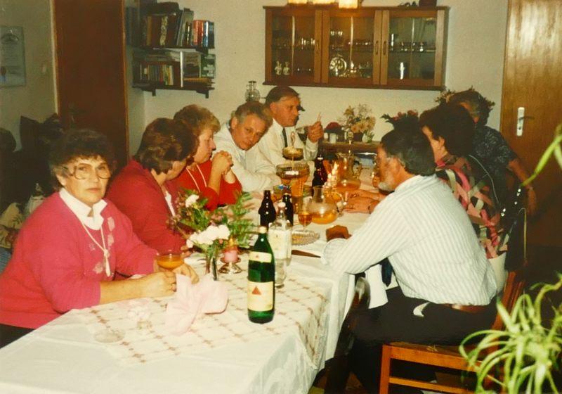 Feier bei den Webers