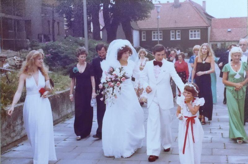 1974 - Hochzeit Beate & Bernhard Smotzok