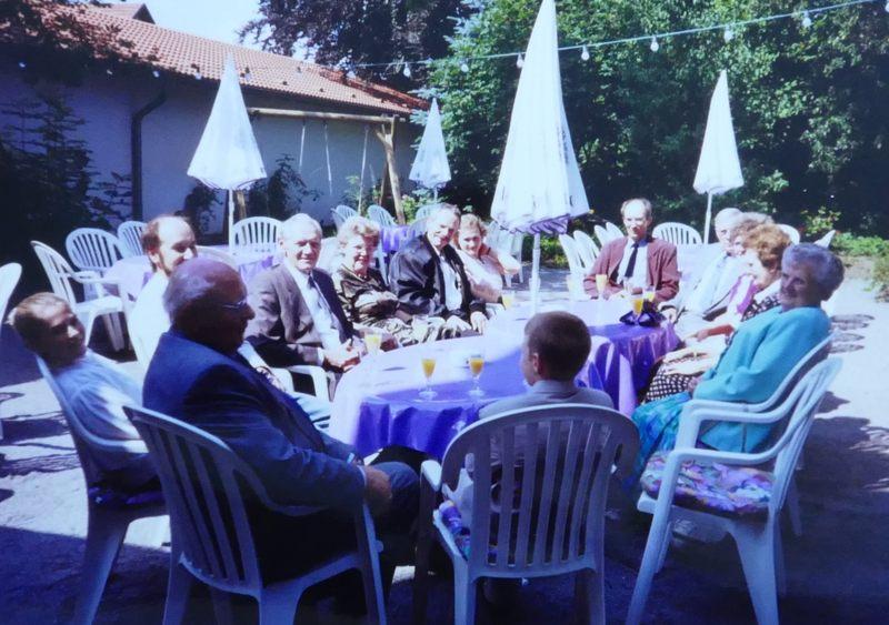 Weber-Feier bei Ackfelds