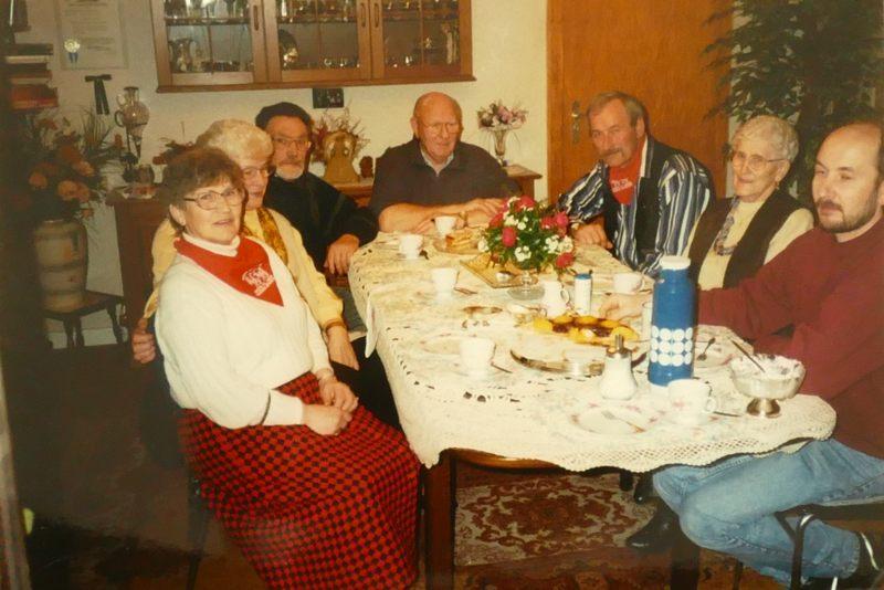 Dine, Hännes und Helmut zu Besuch