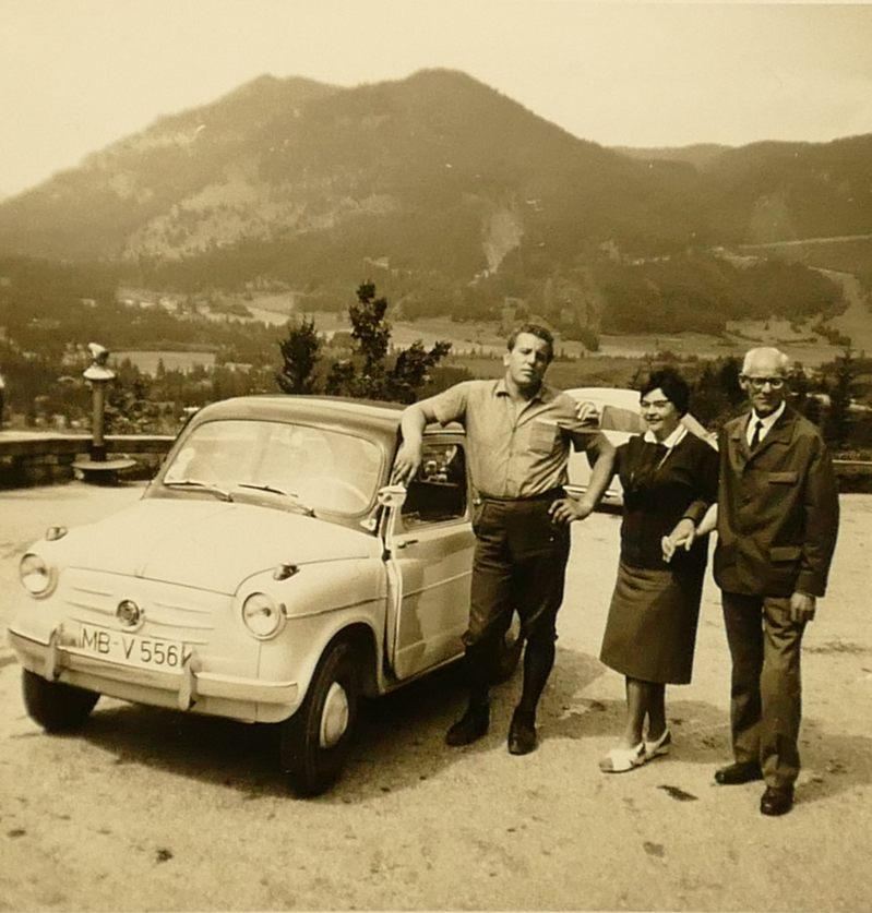 Luis' Heinz mit Threse und Fahrer