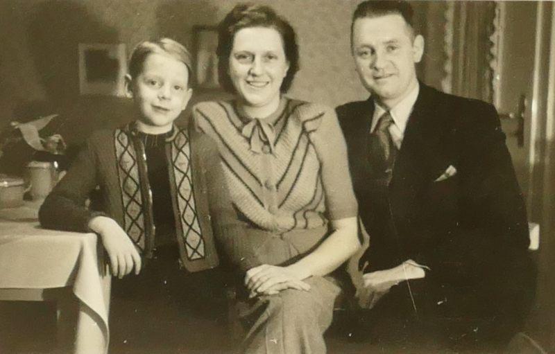 Die Hattinger: Gerd-Otto, Hilde, Josef