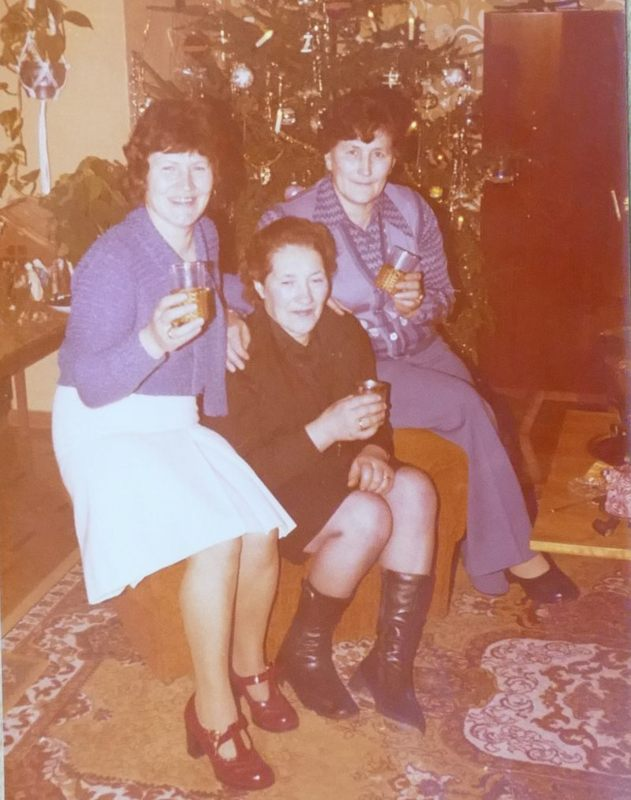 Drei Geschwister: Kunigunde, Elisabeth, Maria