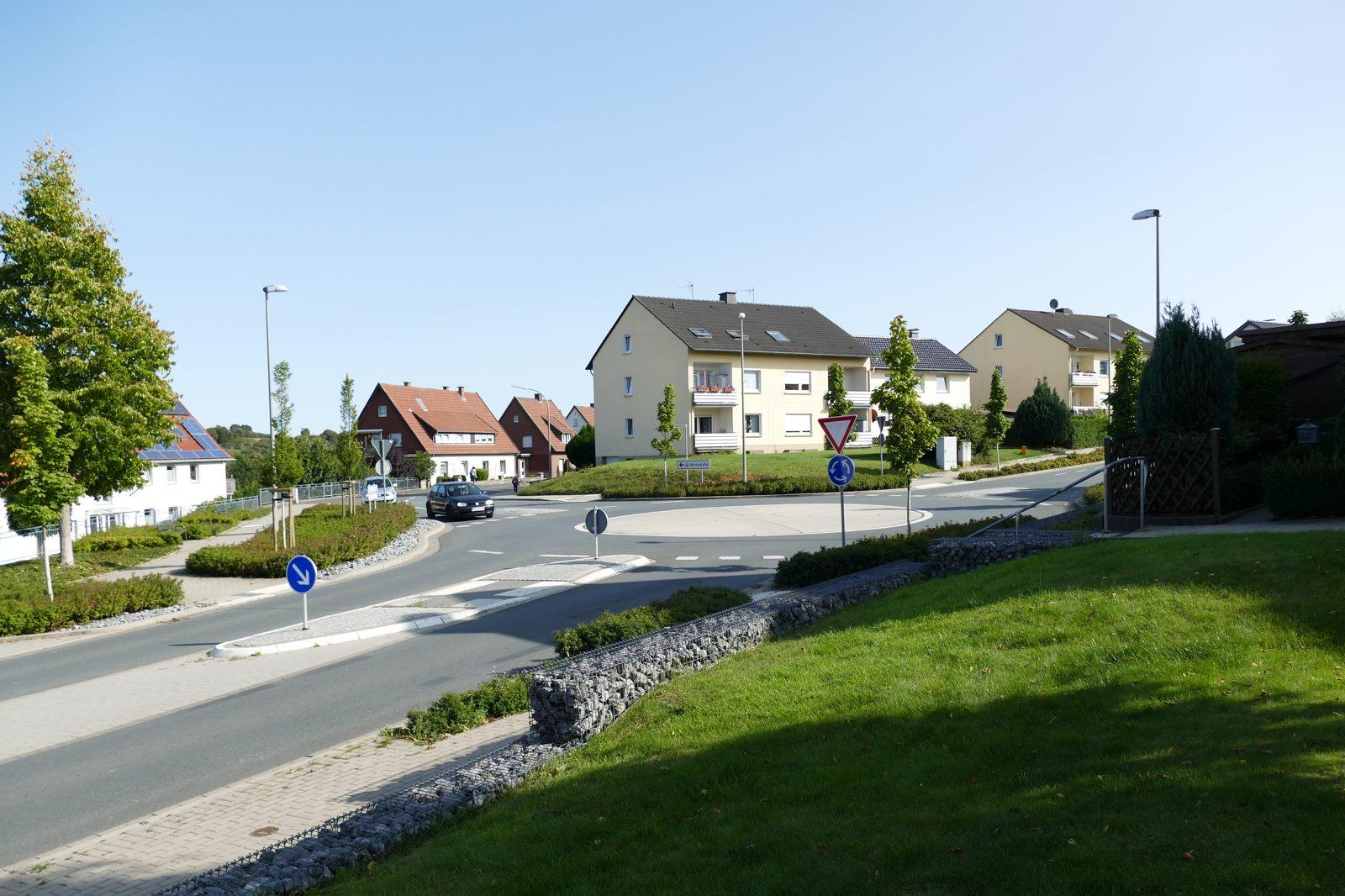 Kreisverkehr Barkhäuser Straße/Hegensdorfer Straße