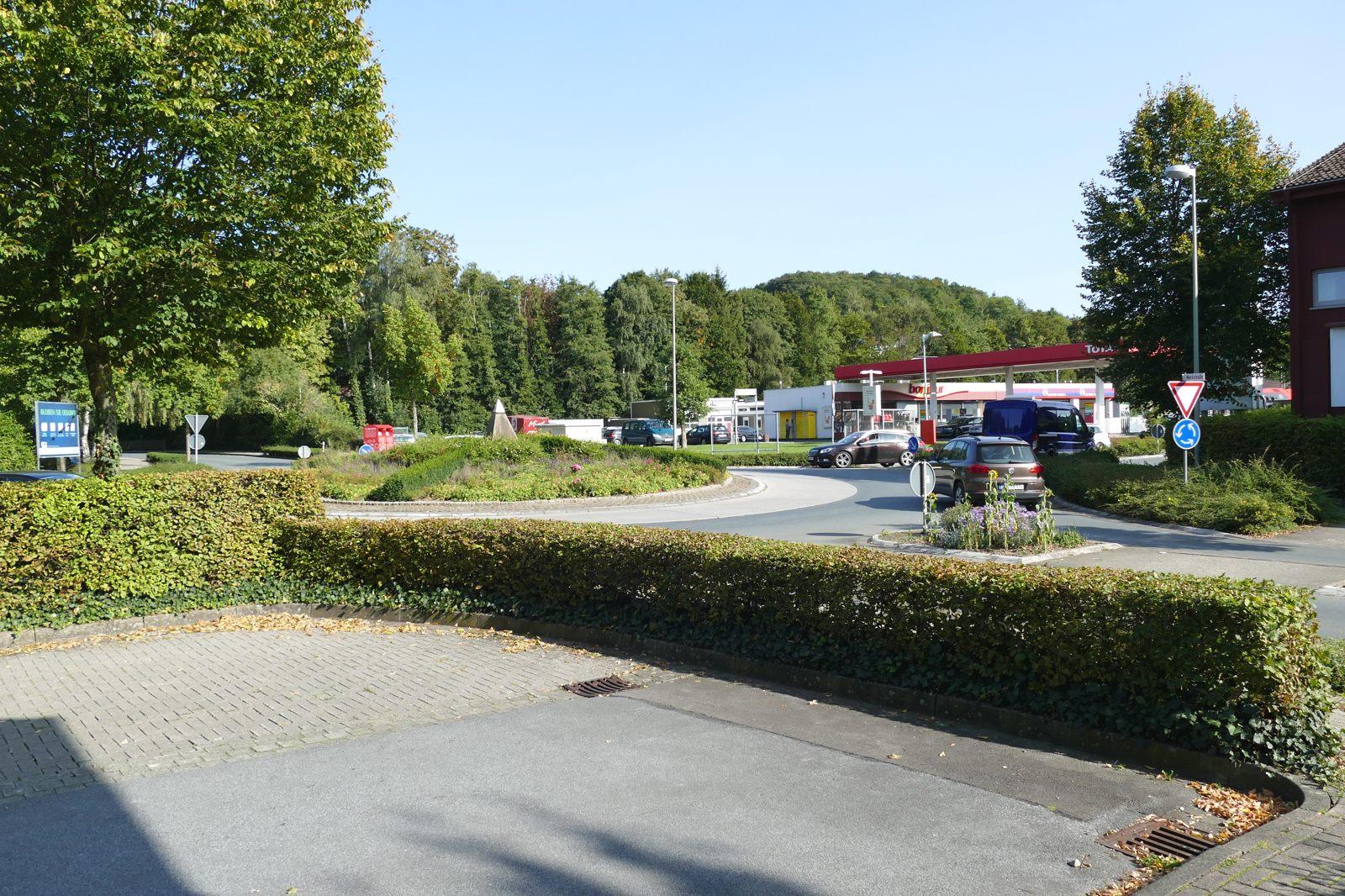 Kreisverkehr Fürstenberger Straße/Jühengrund