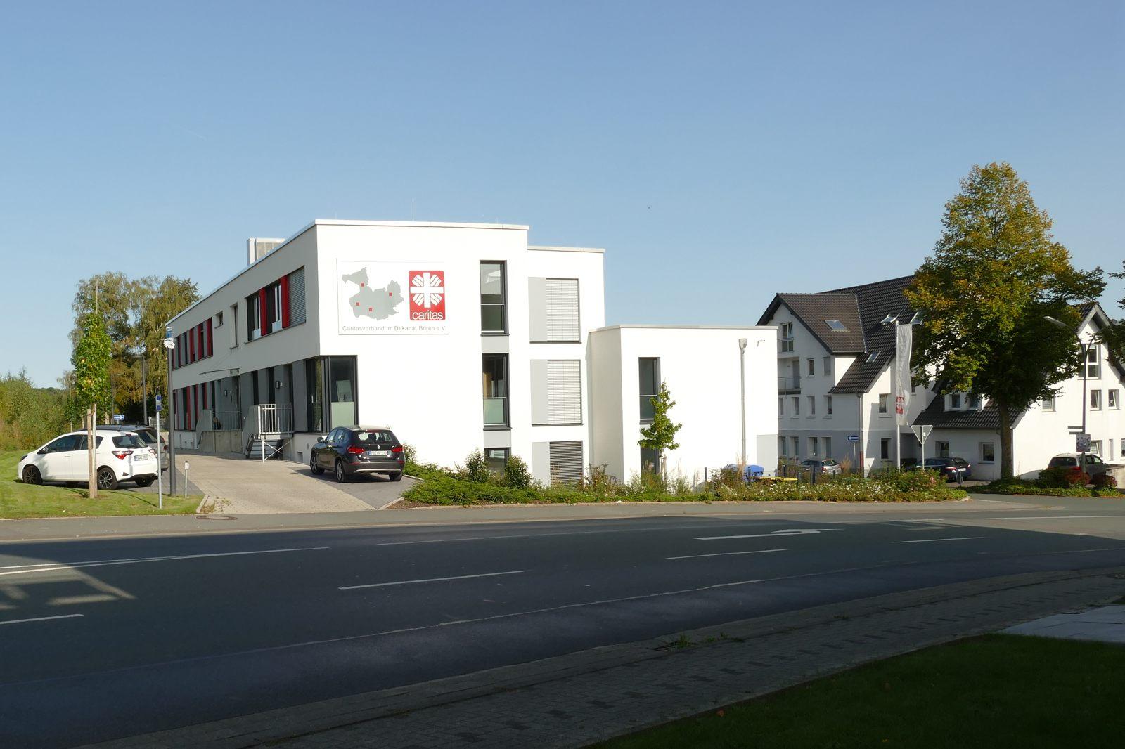 Caritas Verwaltungsgebäude an der Bahnhofstraße