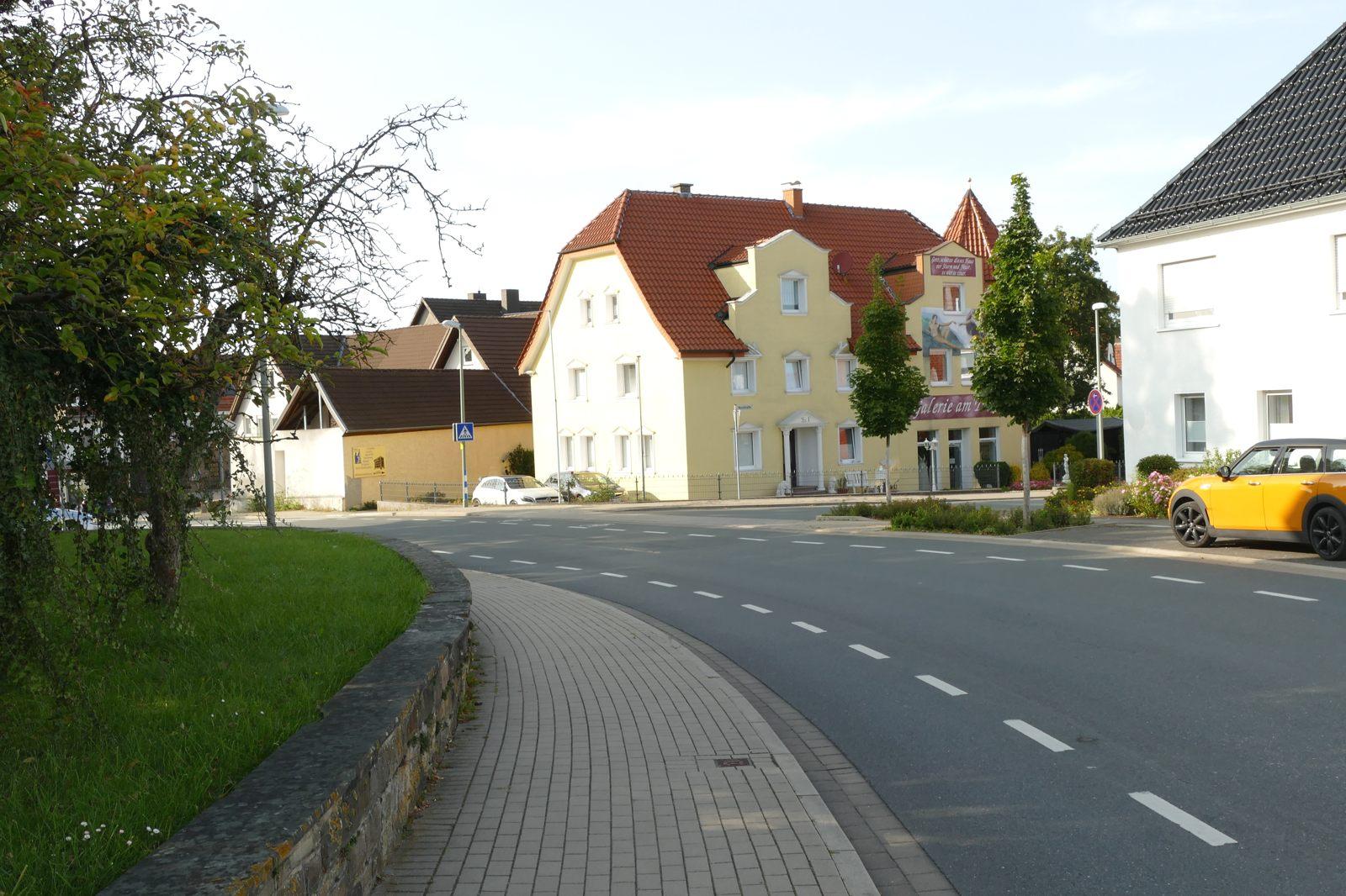 Dagegen ist dieses Bild ein Lichtblick: Barkhäuser Straße/Neustraße