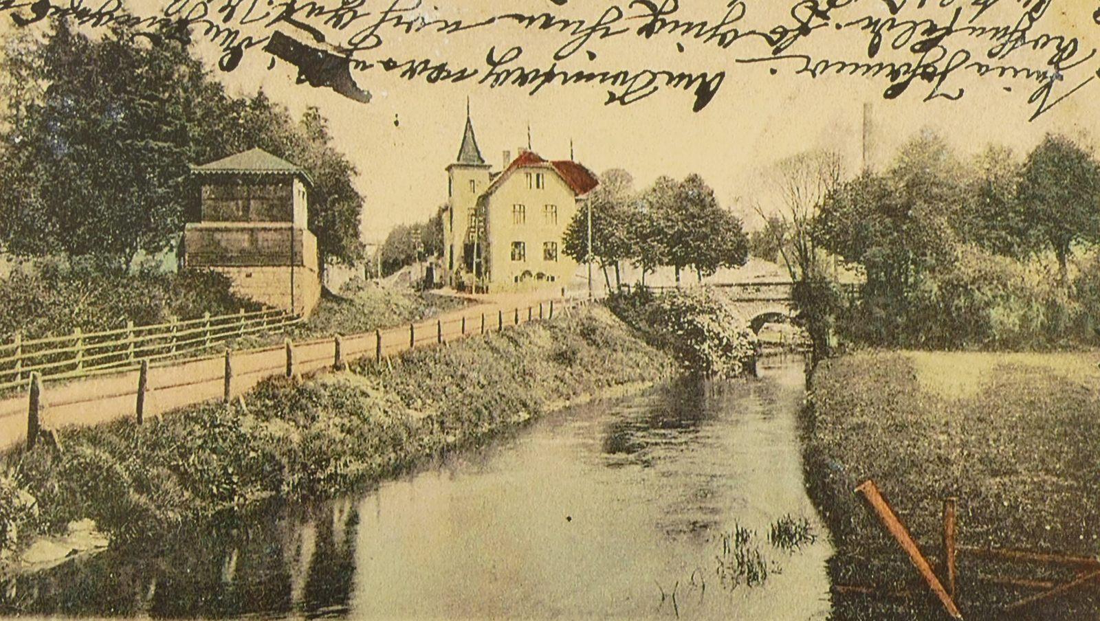Amtsgebäude 1904