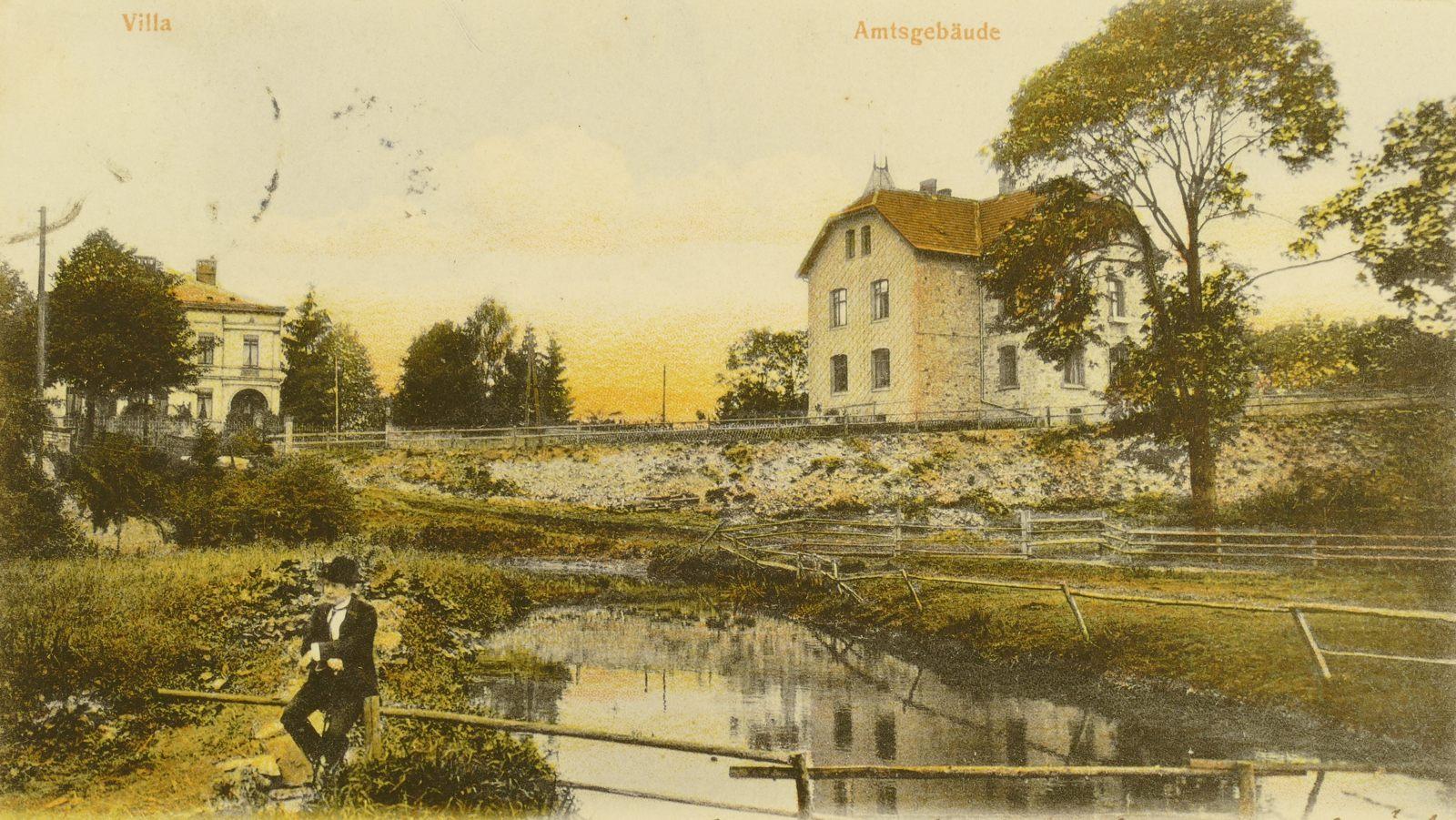 Amtsgebäude mit Villa 1905
