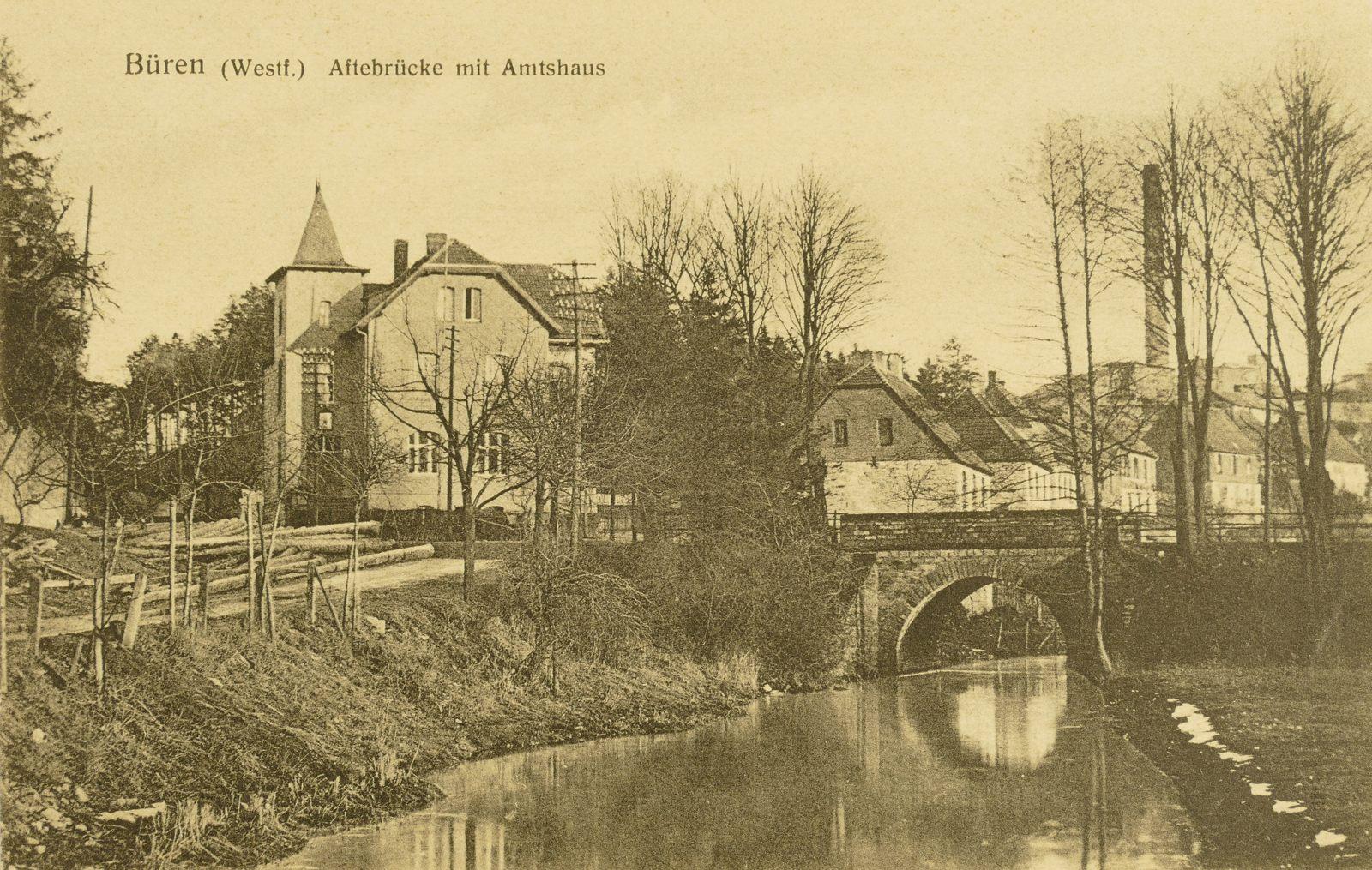 Amtshaus um 1900