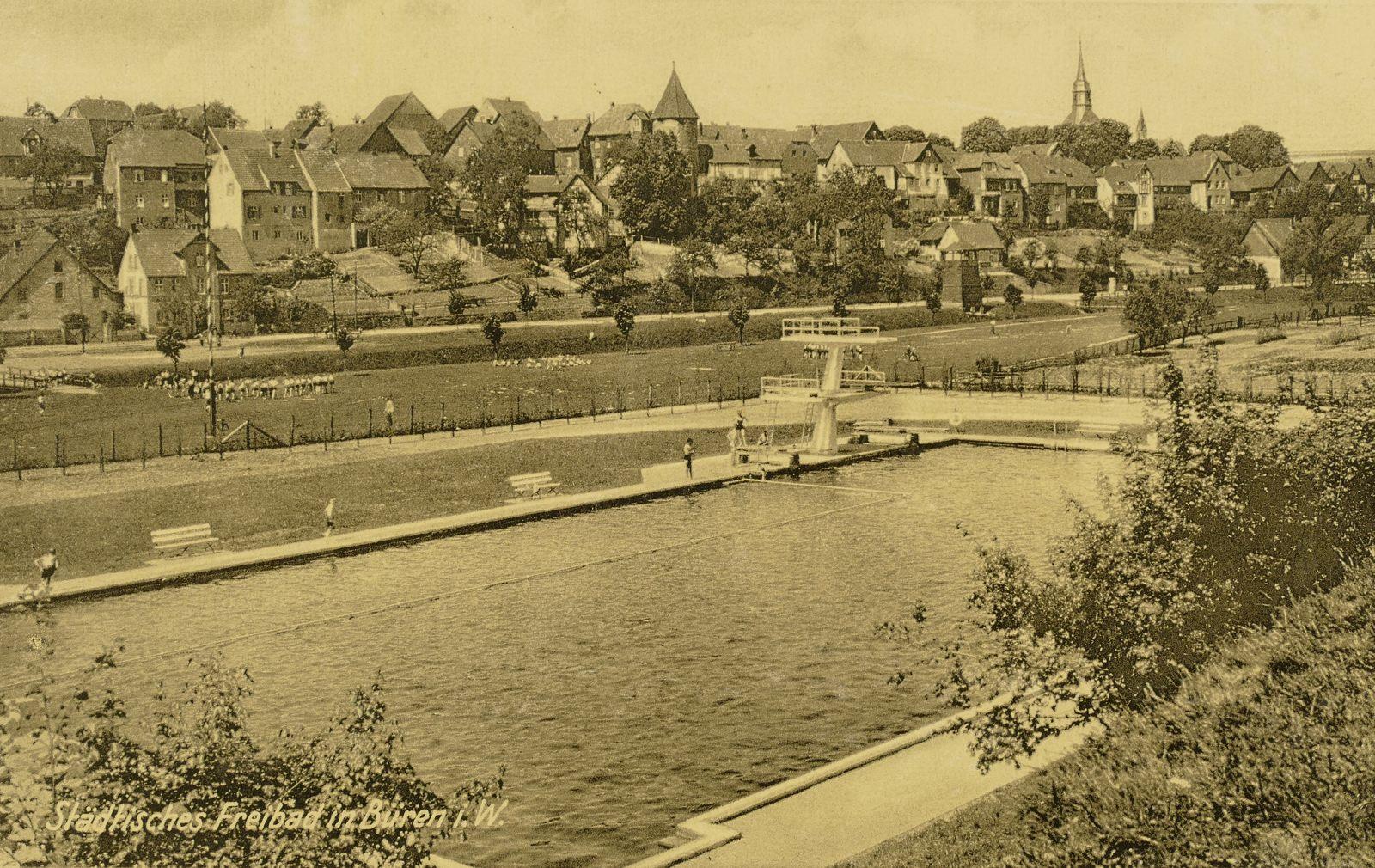 Freibad 1940