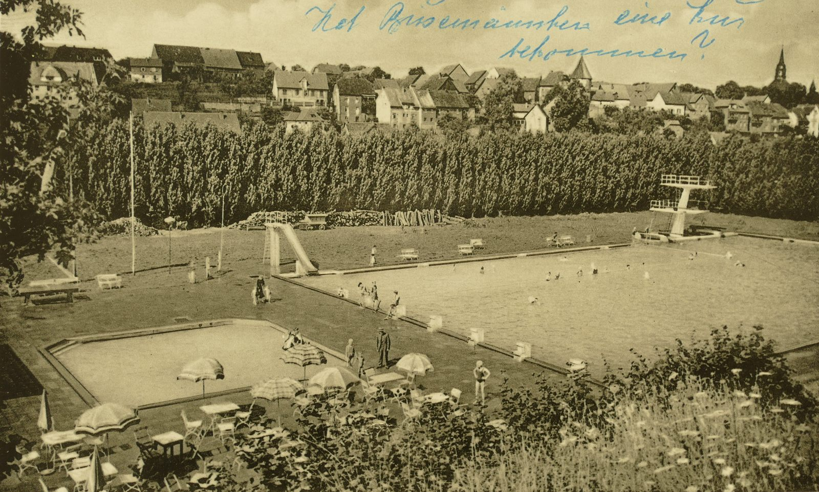 Freibad 1960