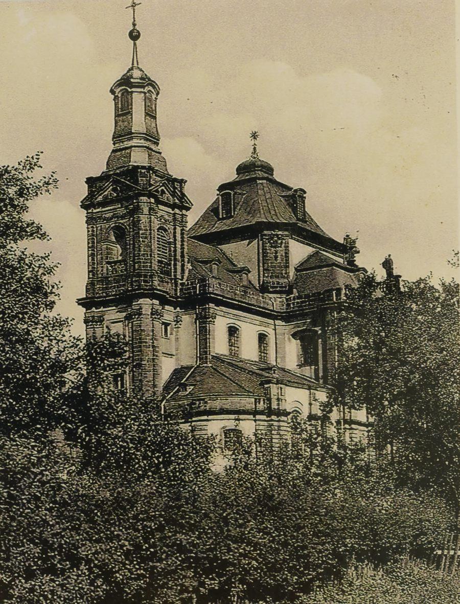 Blick auf die Jesuitenkirche in den 1930ern