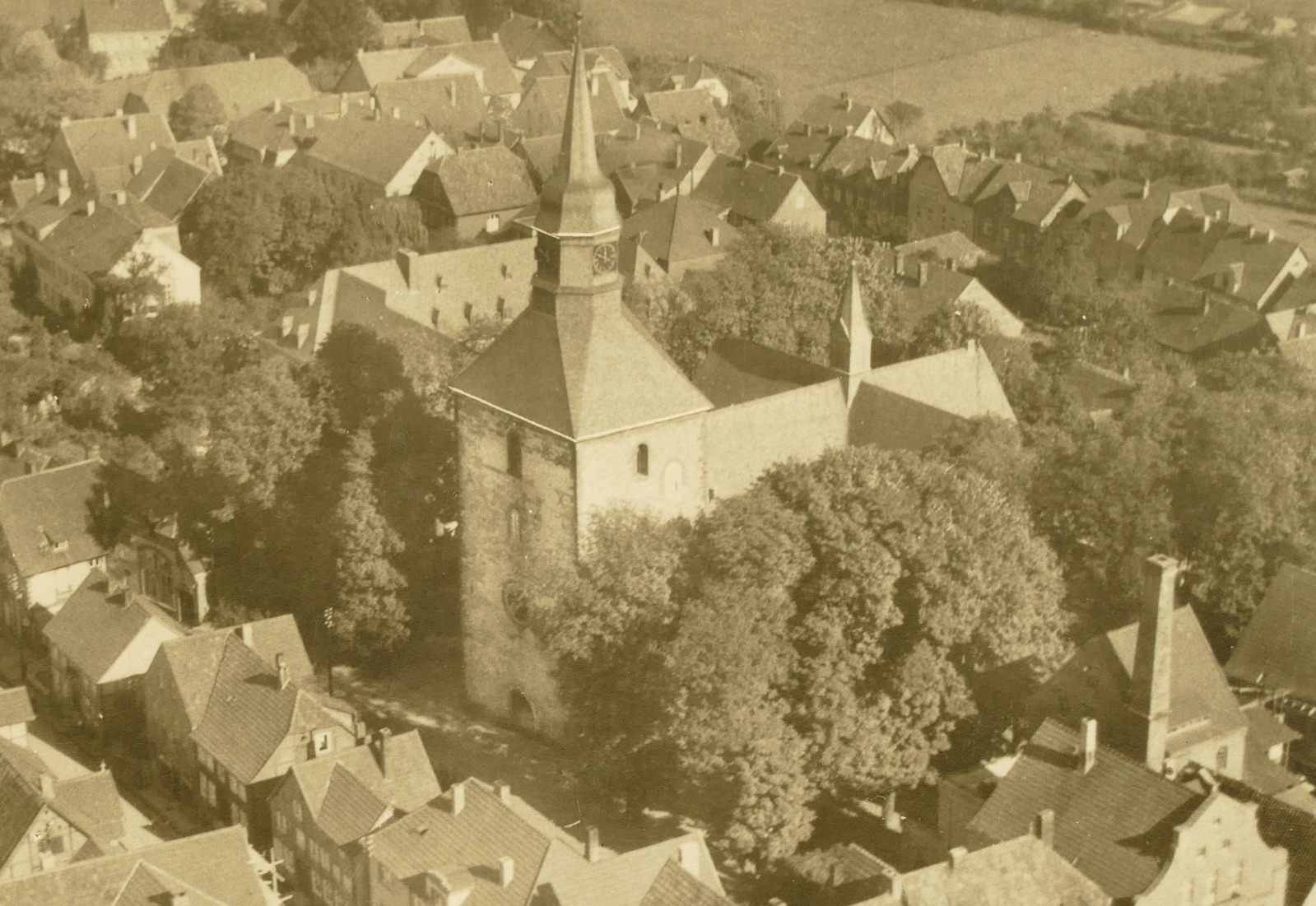 St. Nikolauskirche um 1960