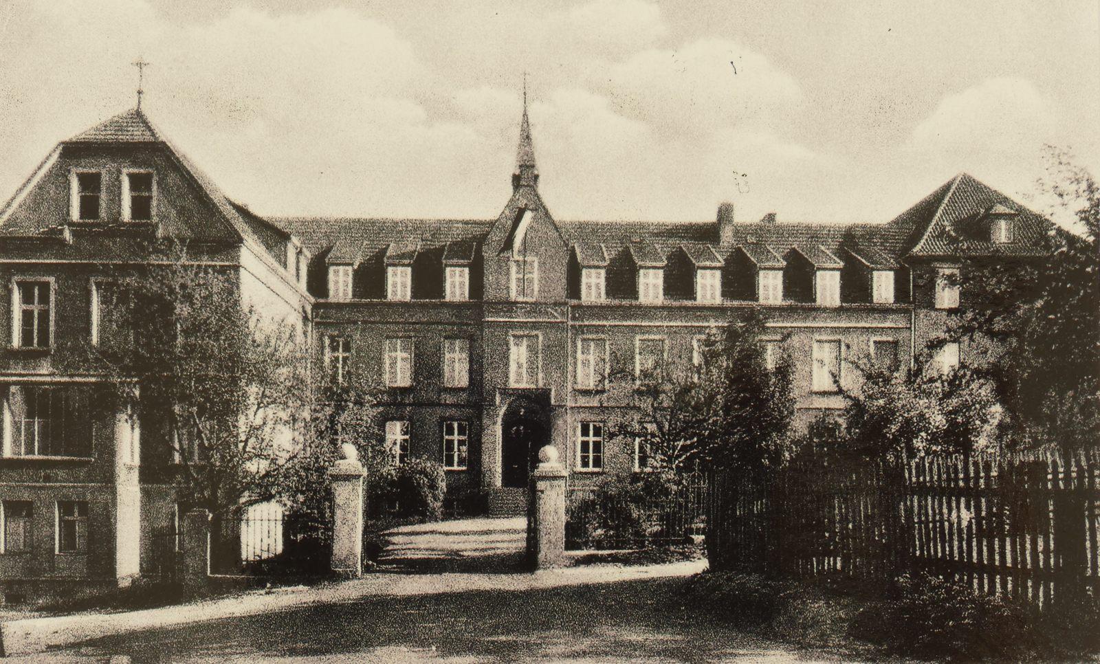 Krankenhaus in den 1940ern