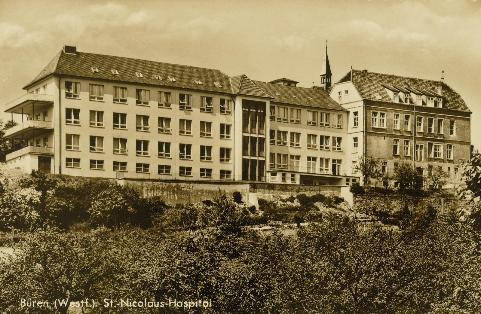 Krankenhaus 1960