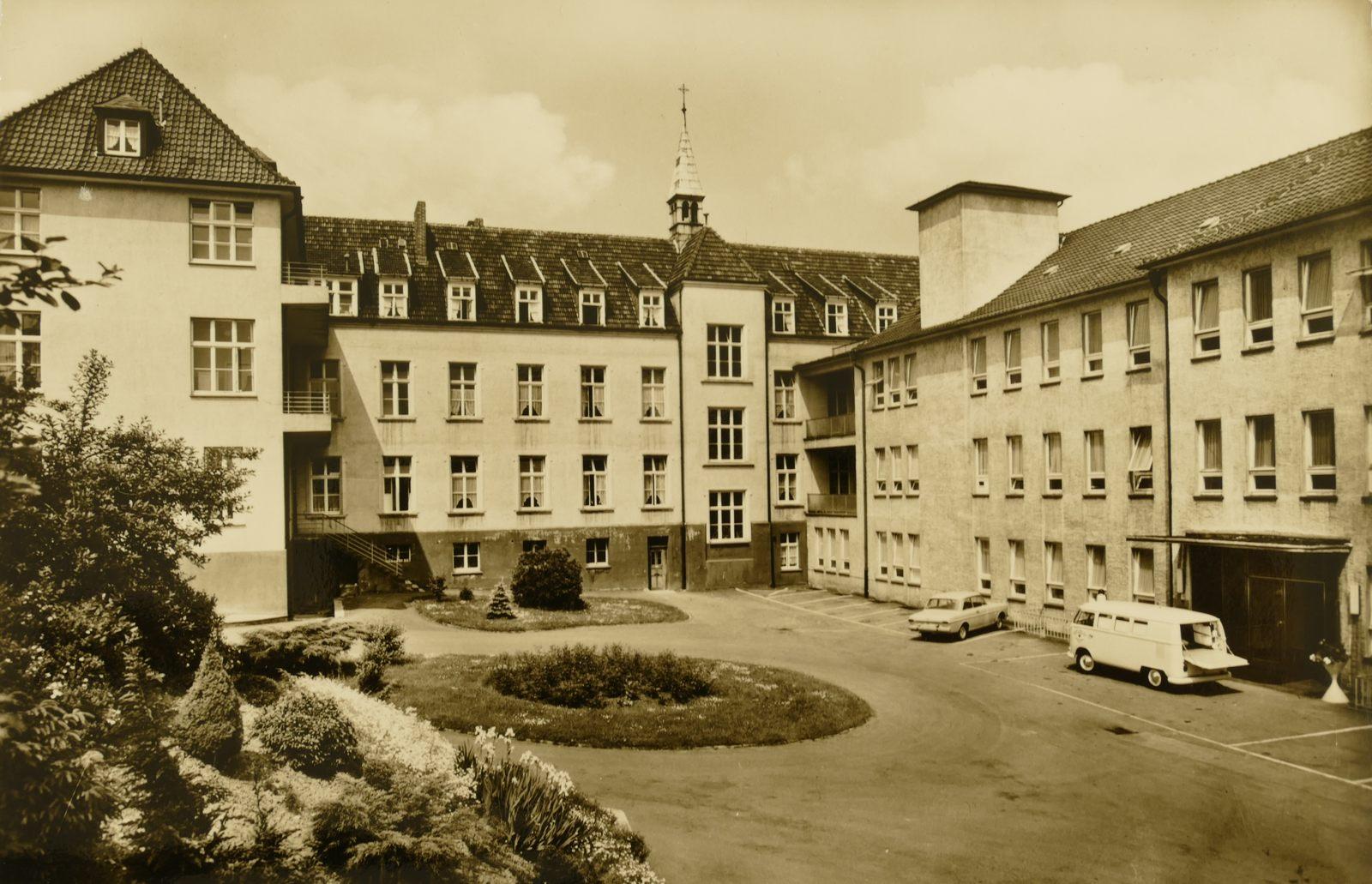 Krankenhaus um 1970