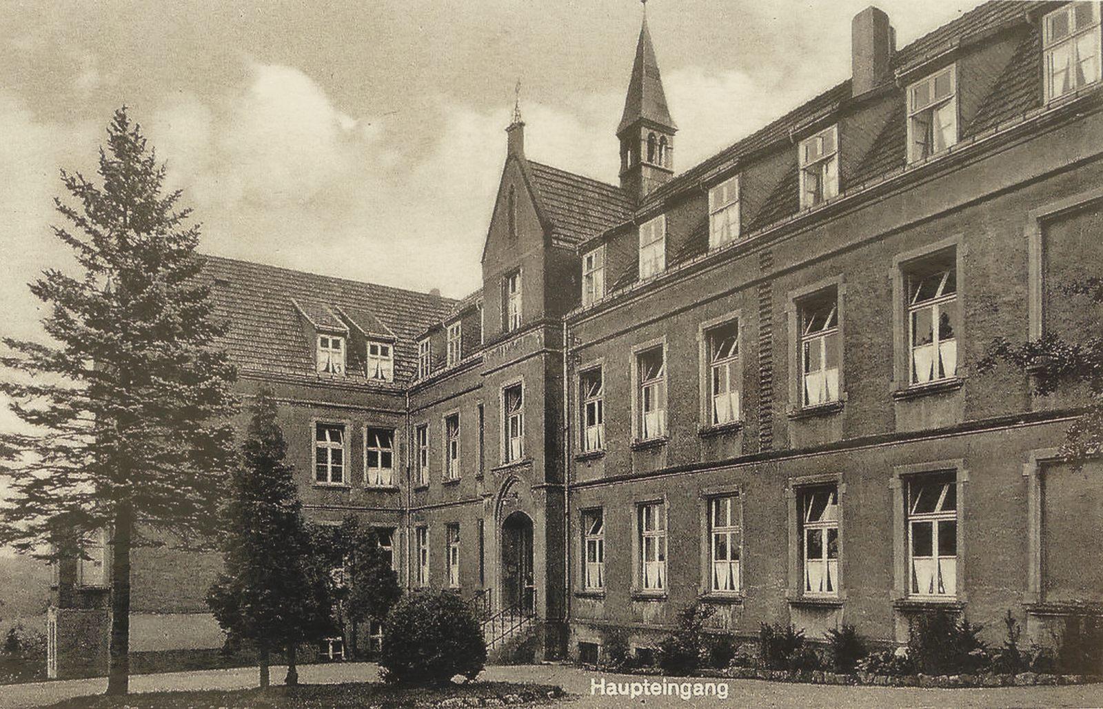 Krankenhaus in den 1930ern
