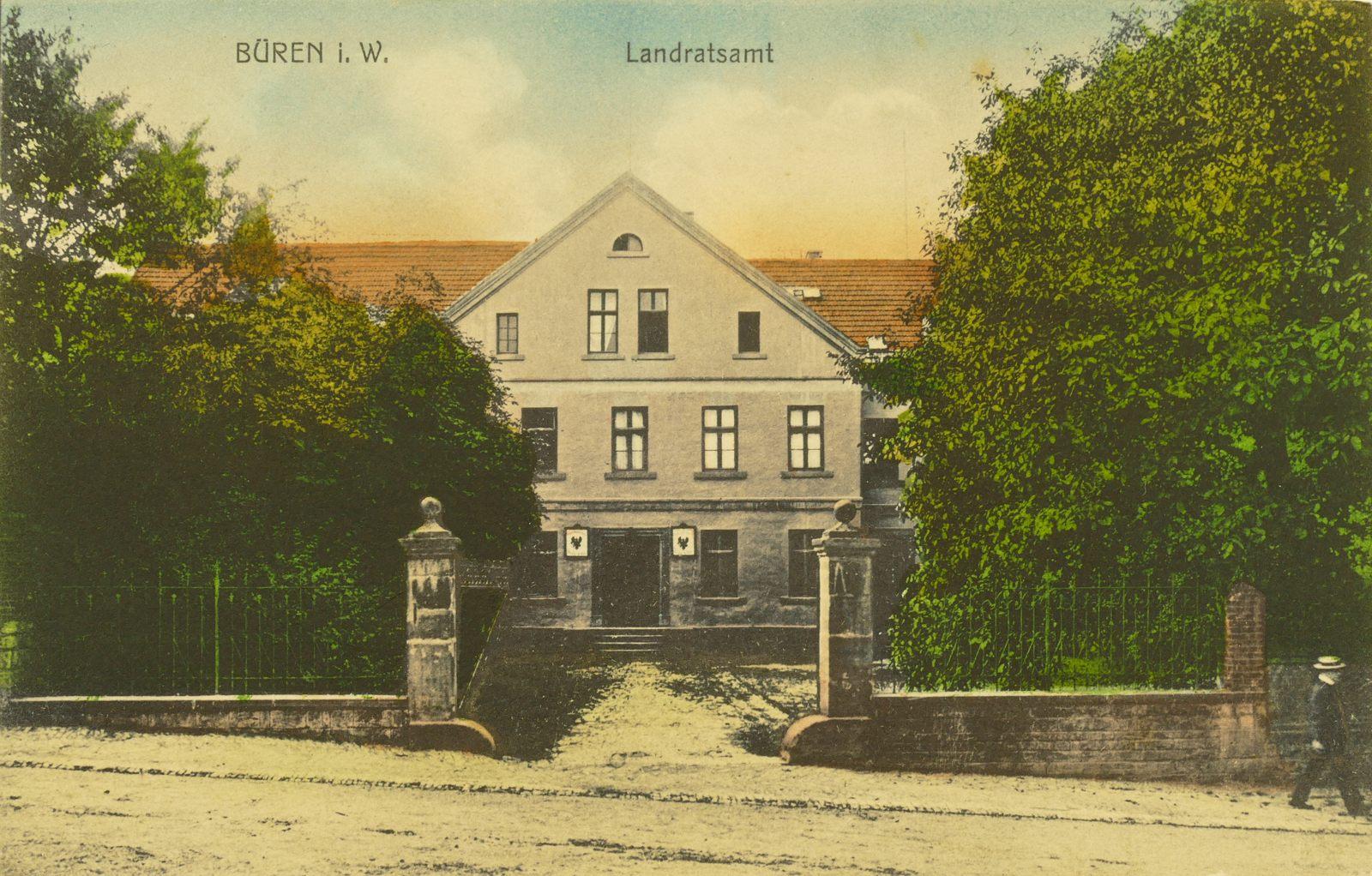 Landratsamt in den 1910ern