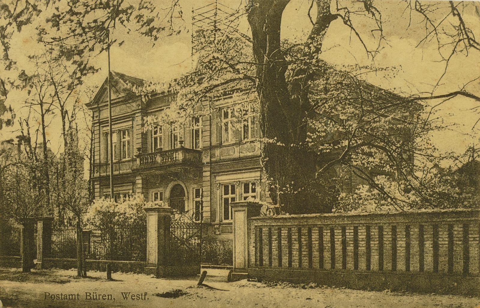 Postamt in den 1910ern