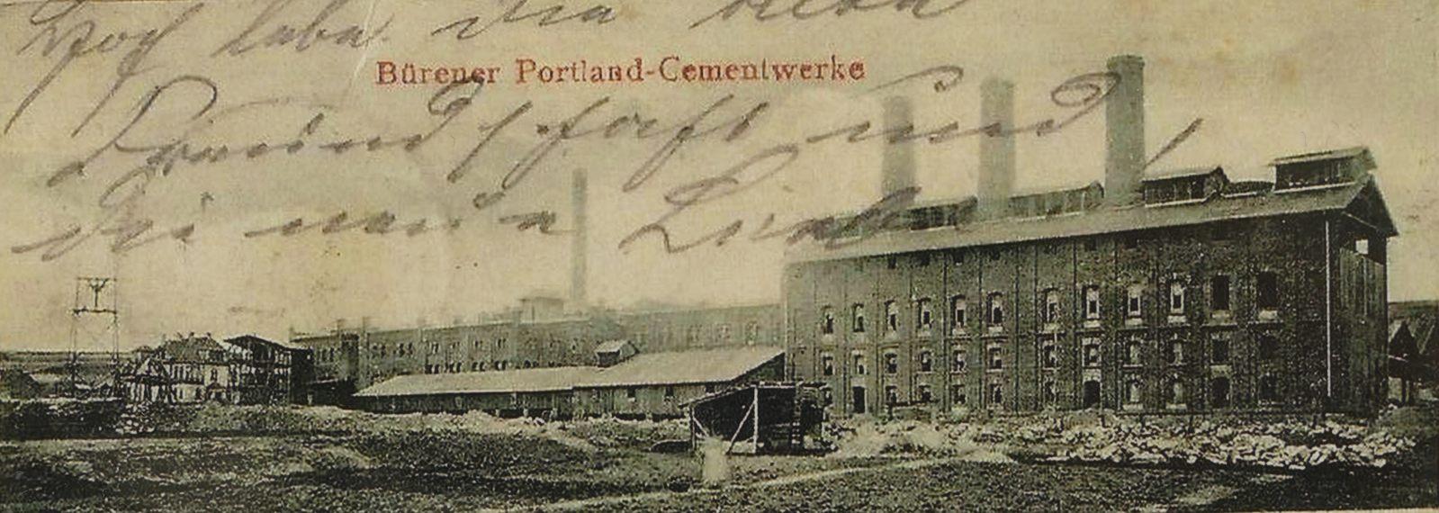 Burania Portland Cementwerke 1901