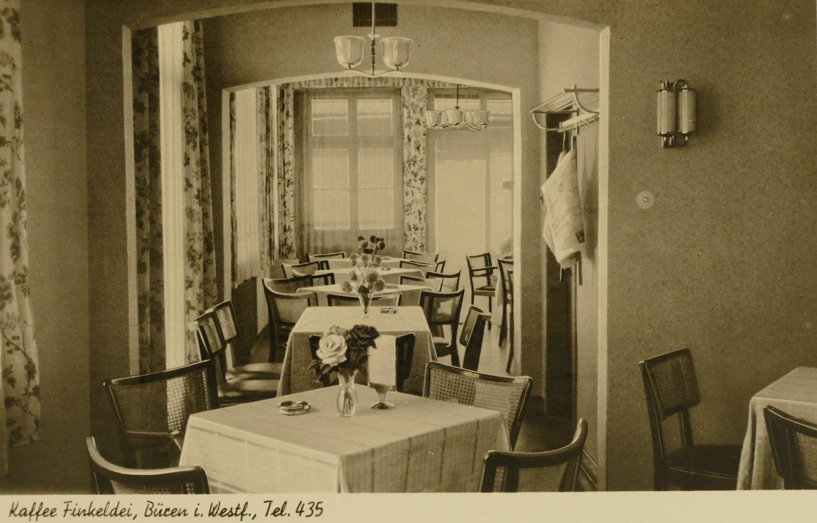 Café Finkeldei 1960