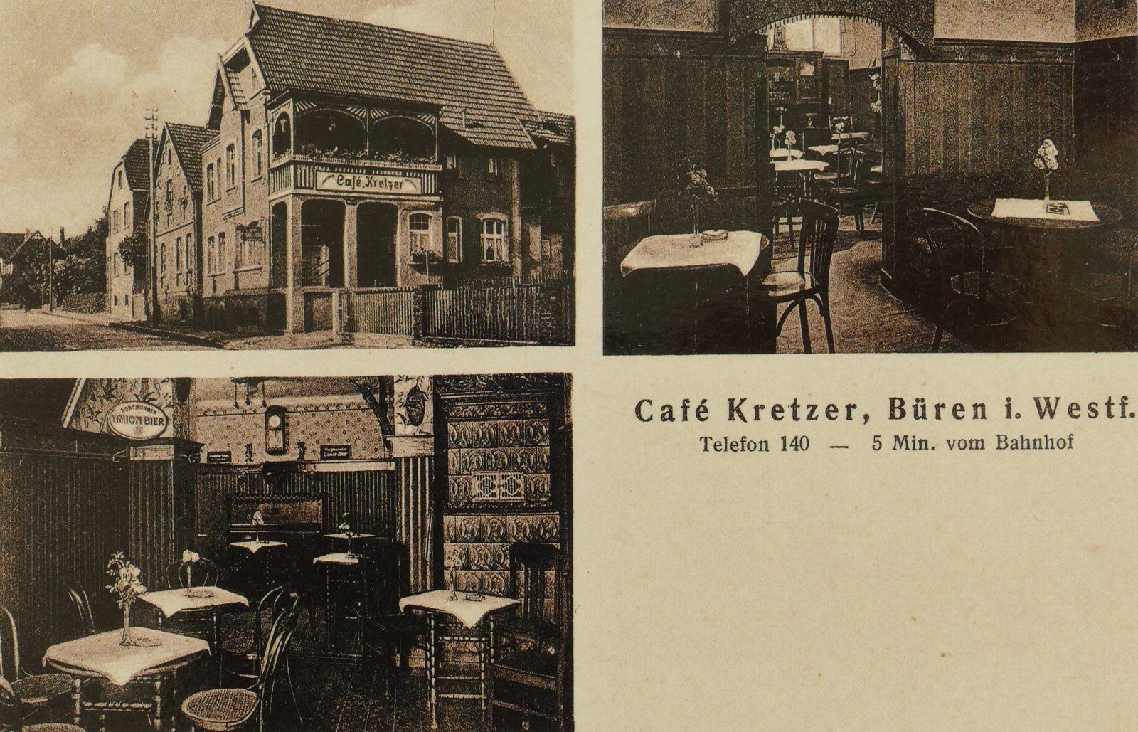 Café Kretzer 1950