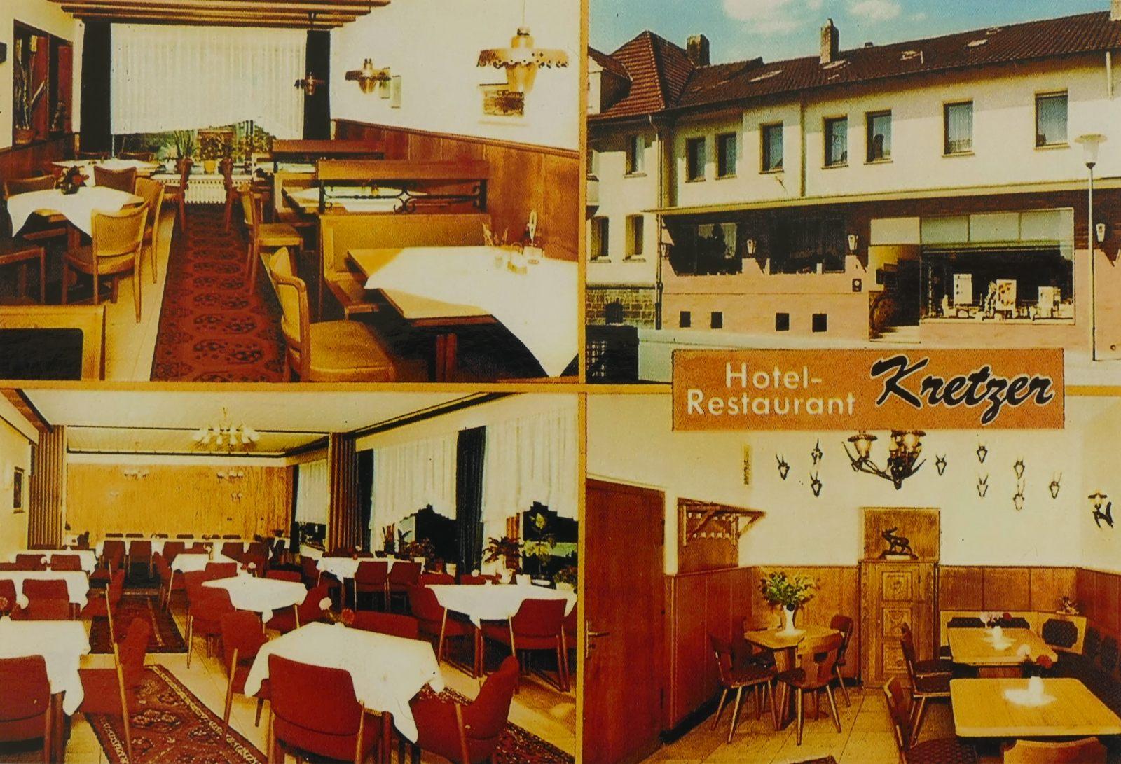 Café Restaurant Kretzer 1985