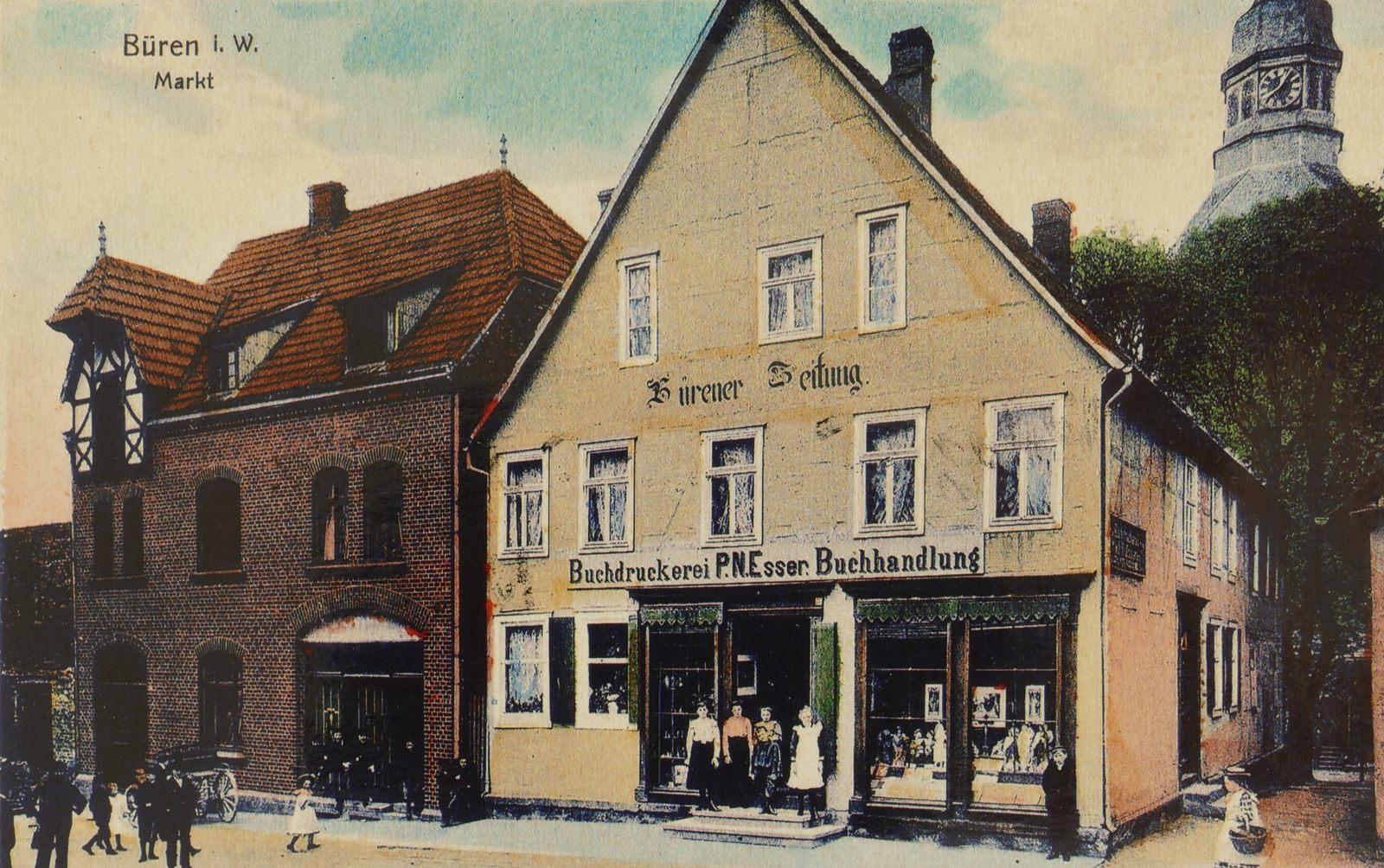 Buchhandlung Druckerei Esser 1907