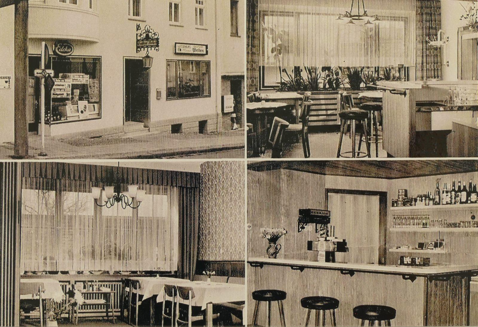 Gasthof Wellen in den 1970ern