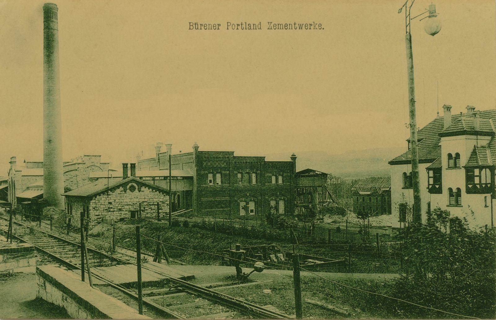 Zementwerke Portland 1907