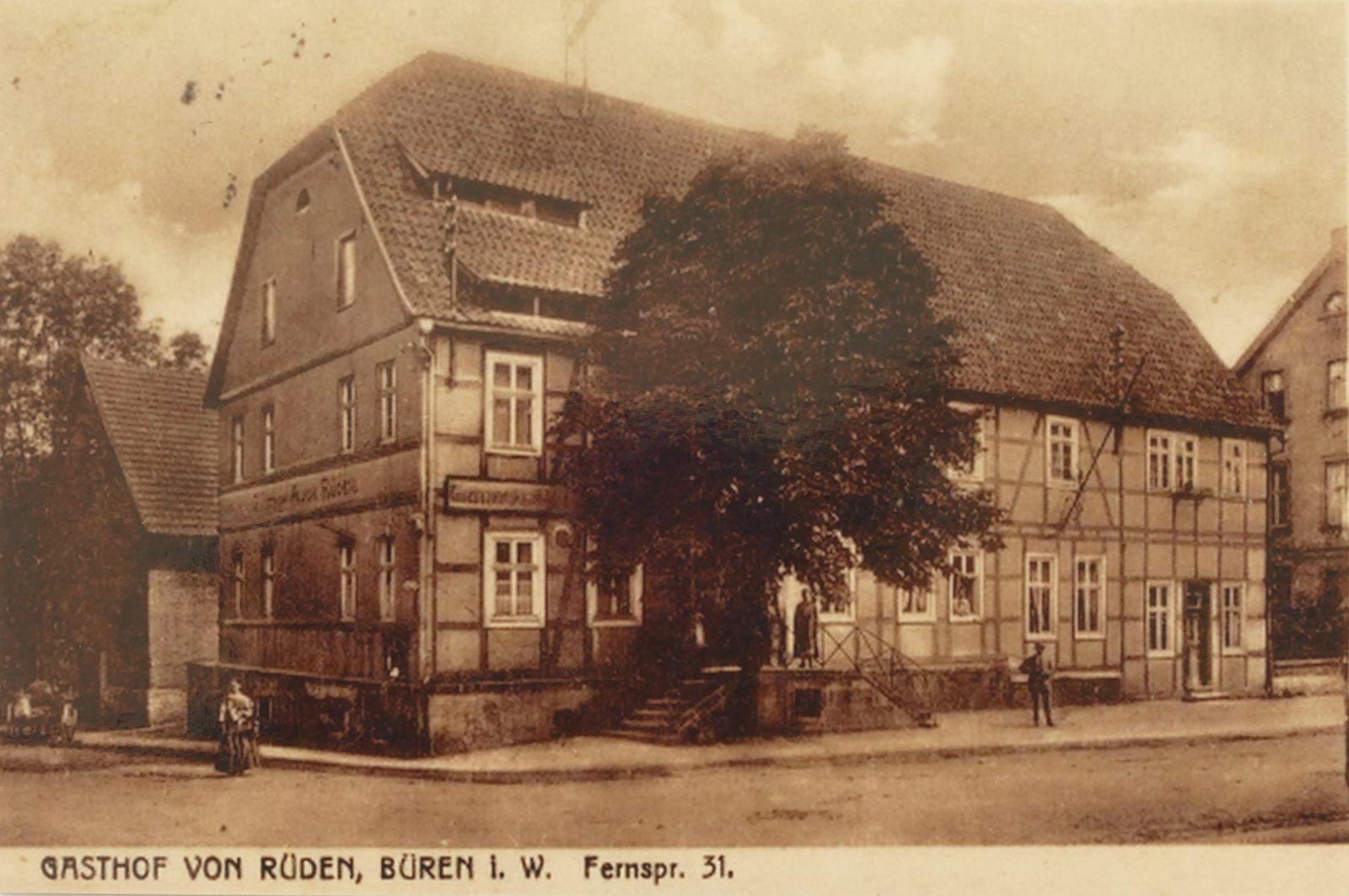 Gasthof von Rüden 1918