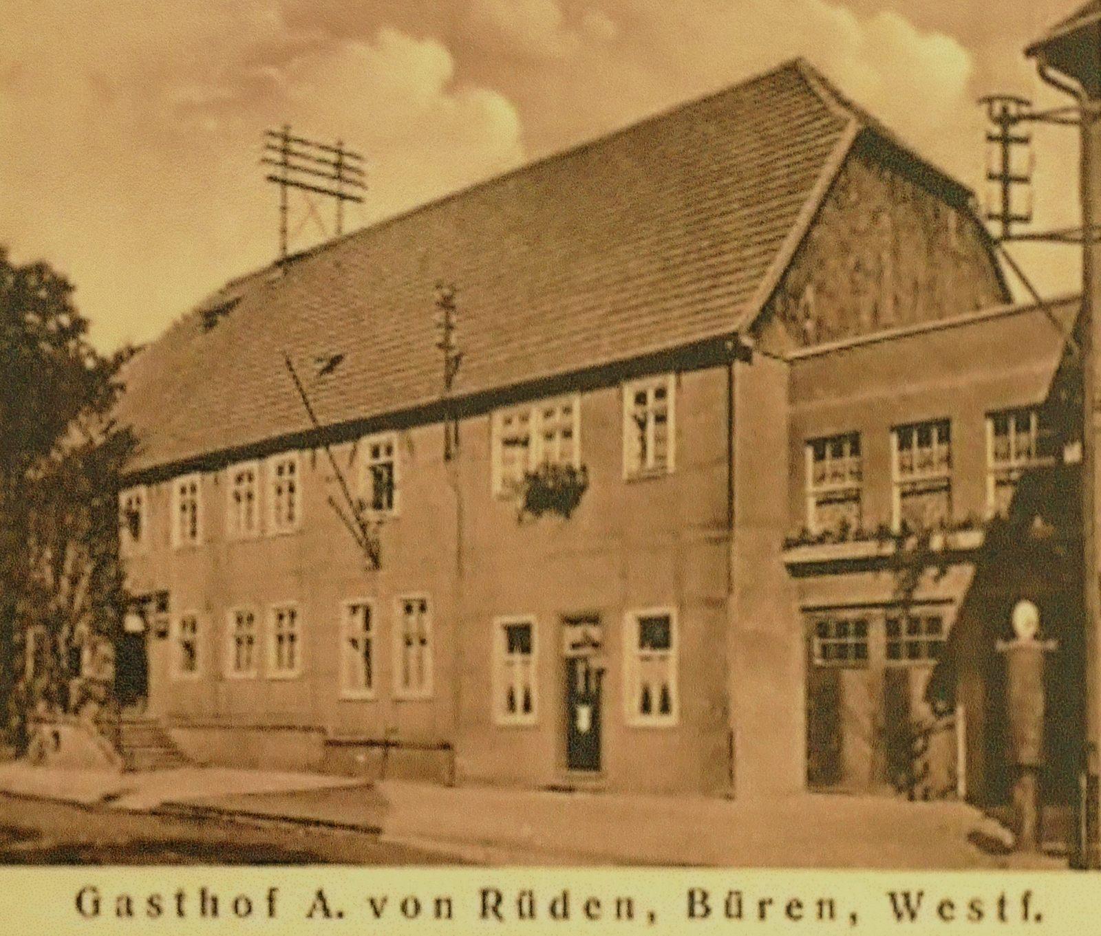 Gasthof von Rüden 1928