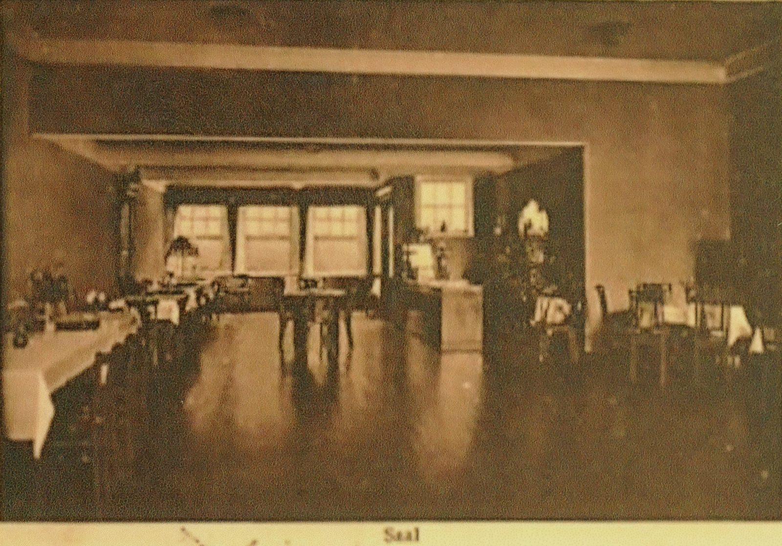 Gasthof von Rüden, Saal, 1928