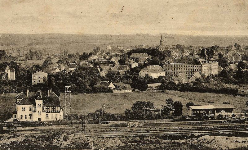 1900 Bahnhof Villa Büren