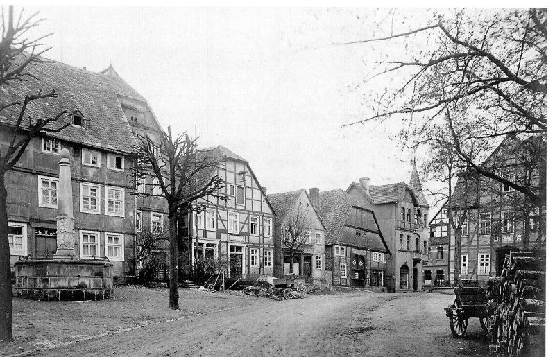 1920er Markt alt