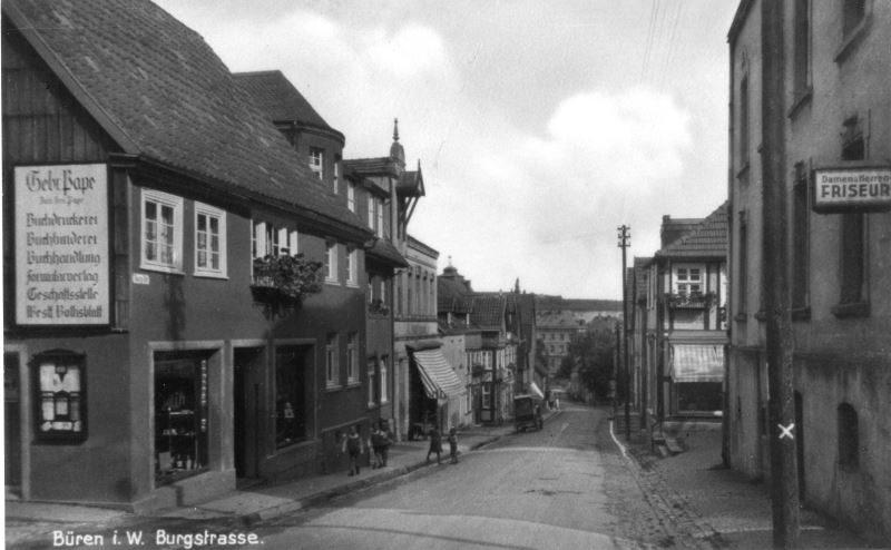 1940er BürenBurgstraße