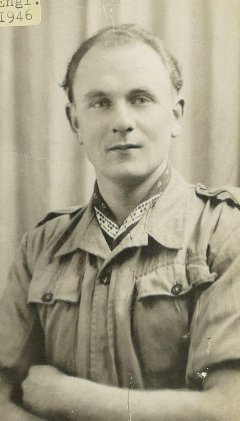1946 Papa in Gefangenschaft GB