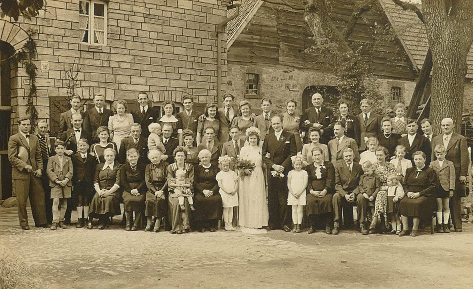 1949 Hochzeit Leiberg