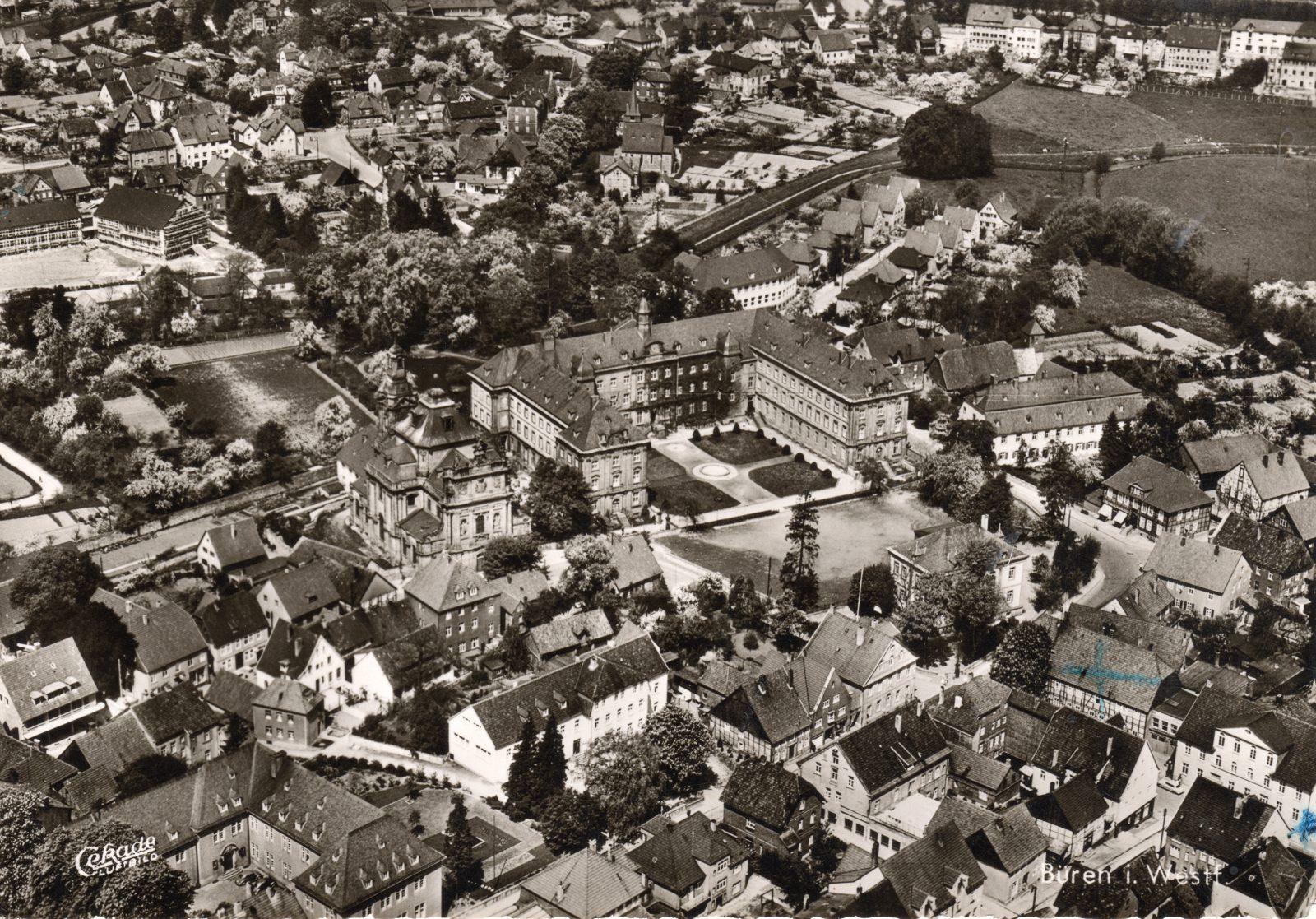 1950 Büren Jesuitenkirche1600